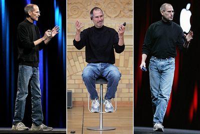 phong cách ăn mặc của Steve Jobs