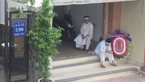 Ngôi nhà nơi xảy ra vụ việc tại Bình Thuận