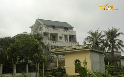 Biệt thự của đại gia than Vàng Danh ông Nguyễn Văn Trịnh