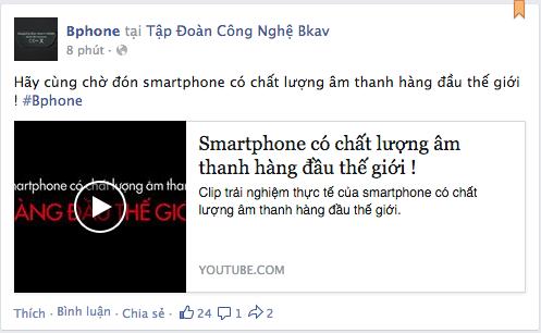 Clip tuyên bố smartphone BPhone của BKAV có chất lượng âm thanh hàng đầu thế giới