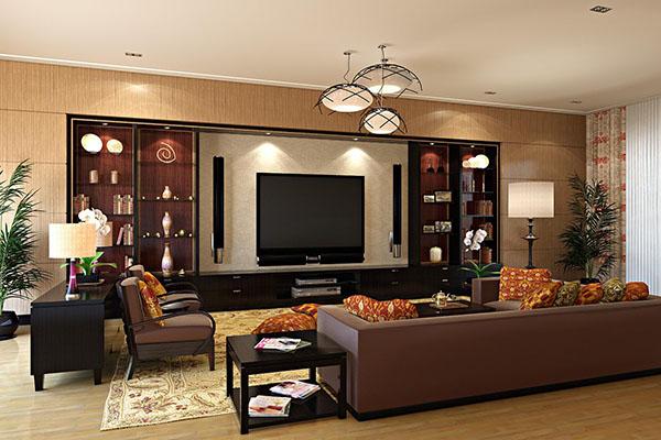 Nên chọn màu nâu khi thiết kế bố trí nội thất trong nhà cho người mệnh Mộc