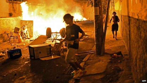 bạo loạn tại Brazil
