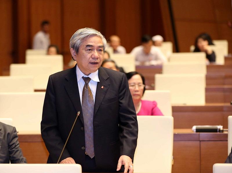 Bộ trưởng Bộ KH&CN Nguyễn Quân trả lời chất vấn trước Quốc hội