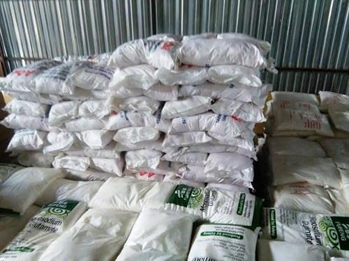 108 tấn bột ngọt vỏ Việt Nam ruột Trung Quốc