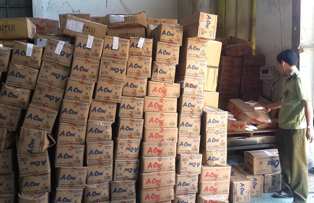 Hơn 100 tấn bột ngọt nghi làm giả