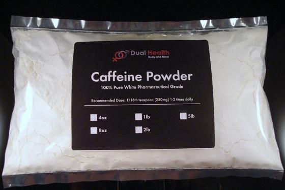 Các cơ quan chức năng rất lo ngại về bột caffeine nguyên chất bán tràn lan trên mạng