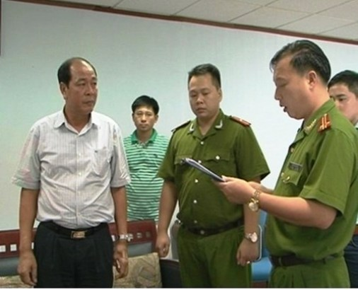 """nguyên Tổng giám đốc Công ty TNHH một thành viên cảng Quảng Ninh, vừa bị cơ quan tố tụng tỉnh Quảng Ninh truy tố về tội danh """"Tham ô tài sản""""."""