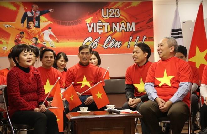 Đại sứ quán Việt Nam tại Hàn Quốc ngày 26/1 đã tổ chức một cuộc giao lưu thân mật với bà Choi Sang-a nhằm bày tỏ sự tri ân đối với ông Park Hang-seo và người vợ của ông
