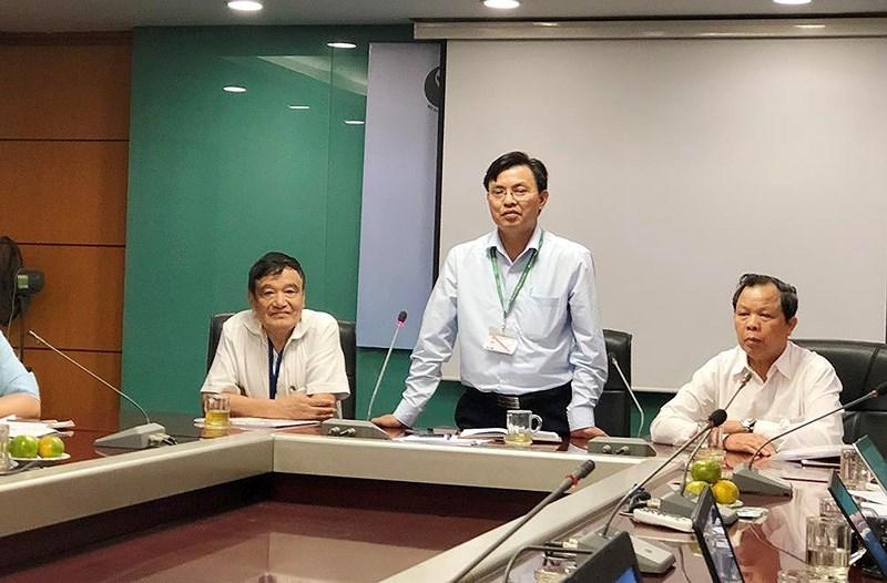 Phó Tổng cục trưởng Tổng cục Môi trường Hoàng Văn Thức