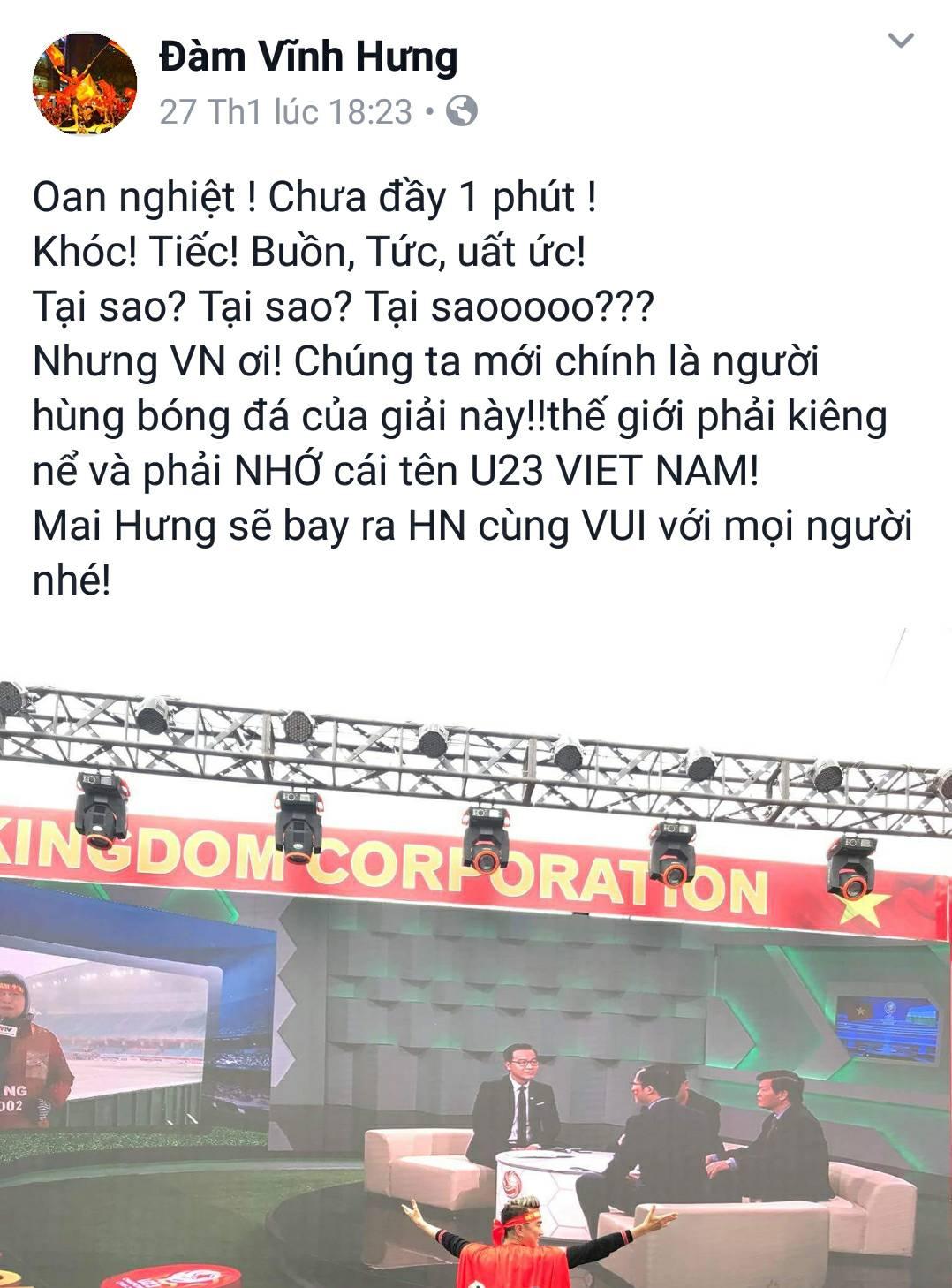 hoai-linh-dong-vien-u23-viet-nam-vi-cup-vo-dich-nhu-chiec-ly-uong-bia-gay-bao