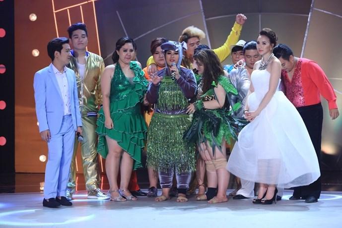 Hạnh Tâm là thí sinh chia tay chương trình sau đêm thi thứ 3