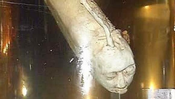 Hình ảnh loài cá mặt người kỳ bí tại Thái Lan
