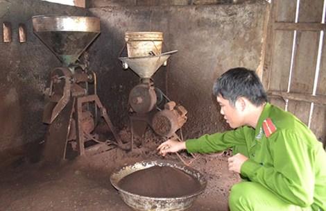 Các xưởng chế biến cà phê bẩn vẫn liên tục mọc lên dù bị cơ quan chức năng xử lý