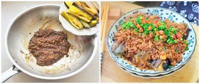 3 bước đơn giản cho món cà tím sốt thịt băm