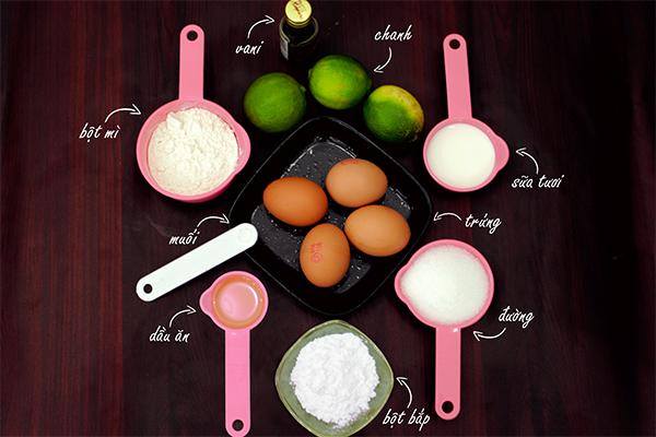 Cách làm bánh bông lan bằng nồi cơm điện không đòi hỏi nguyên liệu phức tạp