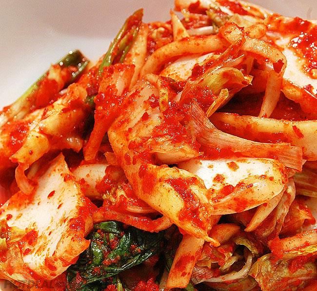 Kim chi cải thảo ăn liền là món ăn thích hợp với những người bận rộn không có thời gian