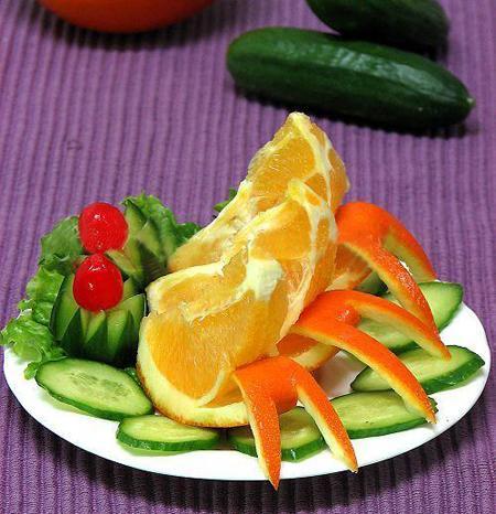 Các cách tỉa hoa quả đơn giản để bày cỗ Trung thu