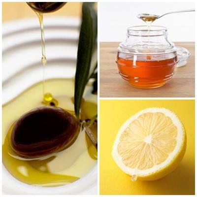 Kết hợp dầu ô liu, chanh và mật ong là cách làm trắng da toàn thân hiệu quả