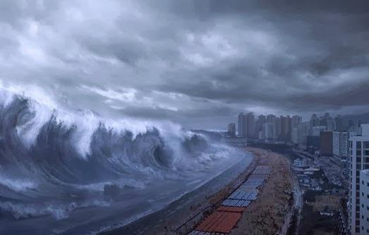 Cơn sóng thần có thể ảnh hưởng đến 13 triệu người dân