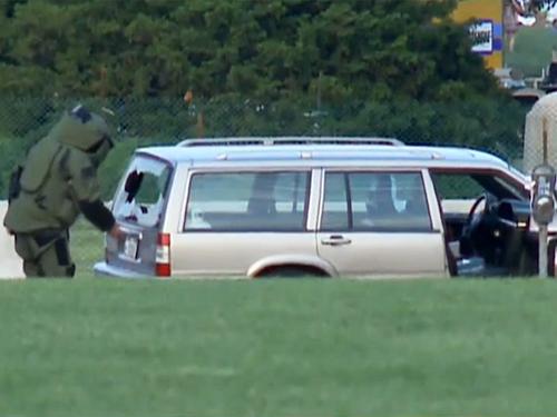 Cảnh sát Mỹ đã phát hiện chiếc xe khả nghi đỗ gần khu vực nhà quốc hội