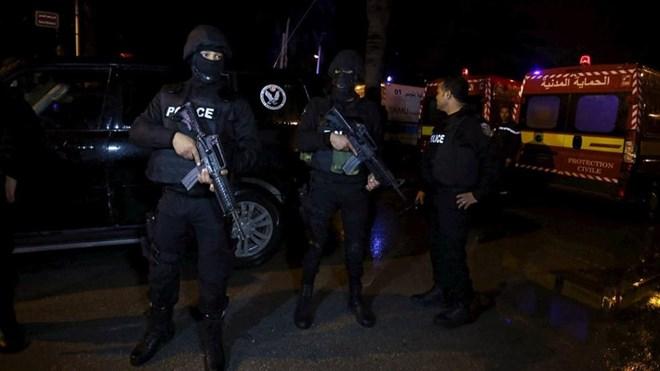 Cảnh sát Tunis ngay lập tức phong toả hiện trường vụ tấn công