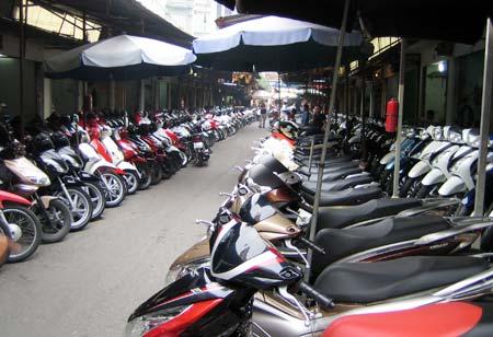 Hầu hết thợ bán xe trên mạng đều luộc xe từ chợ xe máy cũ Chùa Hà