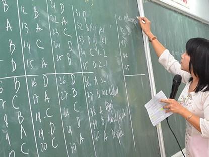 Đề thi Ngoại ngữ kỳ thi THPT Quốc gia 2015 của ĐH Ngoại ngữ sẽ hoàn toàn là trắc nghiệm