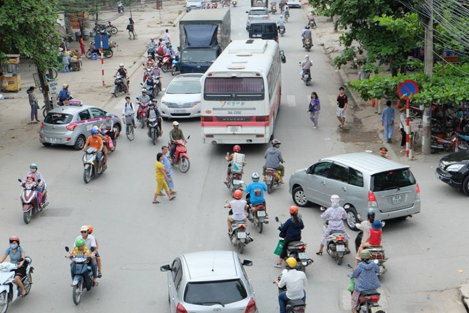 Cầu vượt viện K sau tâm thư gửi Bộ trưởng Đinh La Thăng