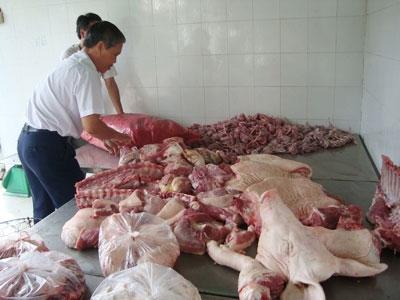 Cơ quan thú y lo ngại việc tăng hàm lượng chất tạo nạc dẫn đến nguy cơ thịt heo gây ảnh hưởng đến người tiêu dùng.