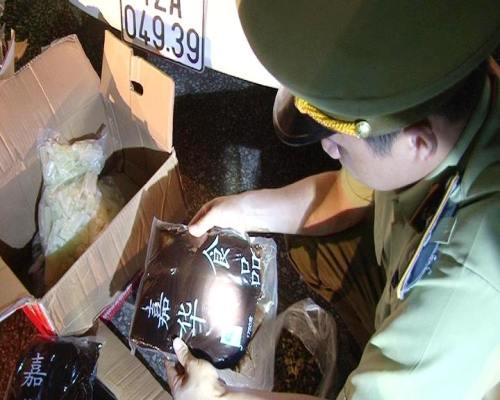 Bắt giữ 100 kg nhân bánh trung thu nhập lậu từ Trung Quốc