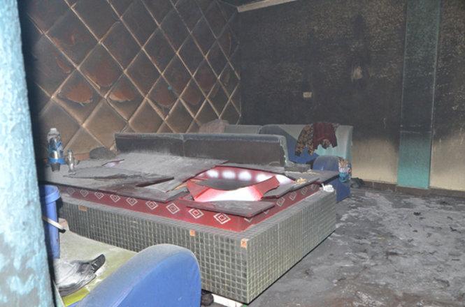 Cháy quán karaoke khiến 22 người 'suýt' chết