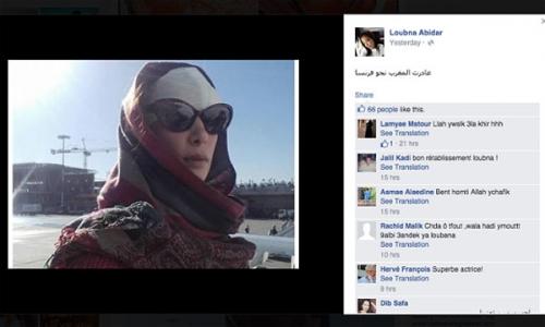 nữ diễn viên Loubna Abidar đăng thư ngỏ trên tờ Le Monde(Pháp), kể về quá trình cô gặp nạn vì đóng vai gái bán dâm trong phim Much Loved