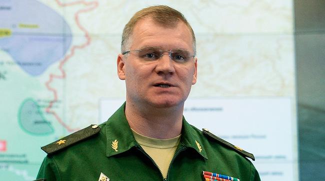 Ông Igor Konashenkov cho biết các chiến đấu cơ Nga đã giảm cường độ không kích tại Syria