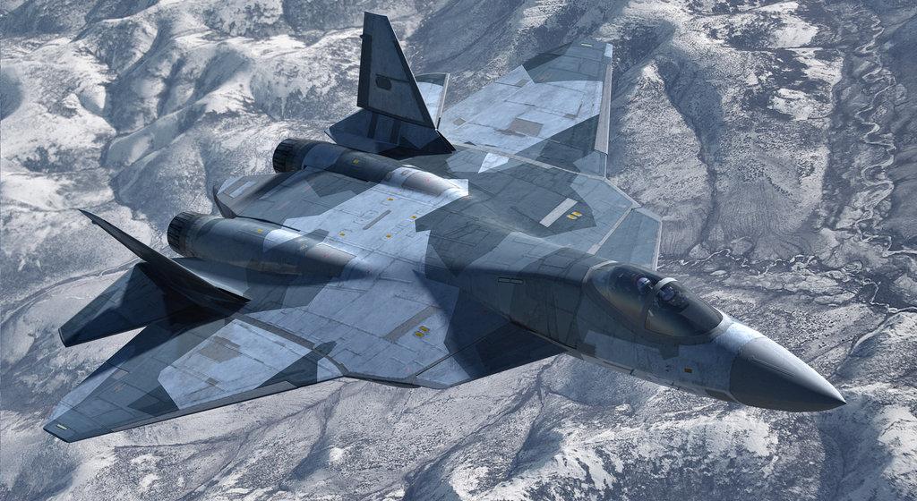 Chiến đấu cơ Sukhoi PAK FA T-50 được đánh giá là đối thủ của các chiến đẩu cơ thế hệ thứ năm của Mỹ