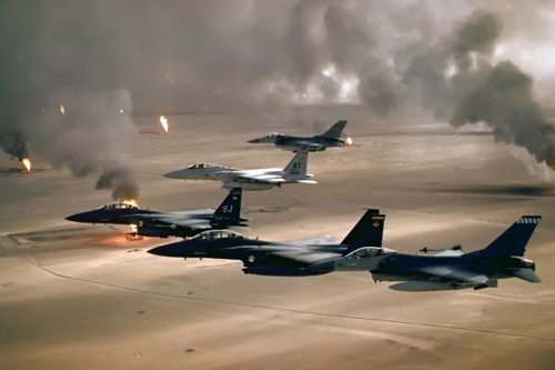 Chiến tranh vùng vịnh Mỹ đã tiêu tốn 102 tỷ USD