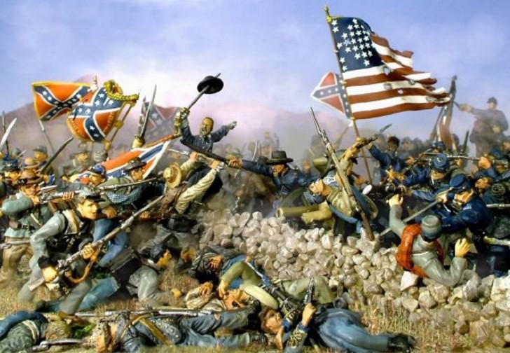 Nội chiến Mỹ tiêu tốn 11,7 % GDP của toàn đất nước này năm 1865