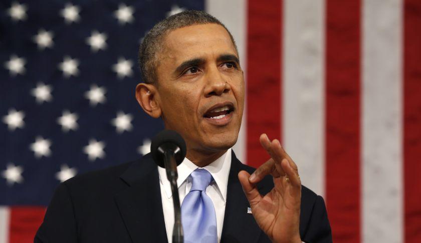 Những quan điểm gây sốc của tỷ phú Donald Trump đã vấp phải sự chỉ trích mạnh mẽ của tổng thống Mỹ Obama