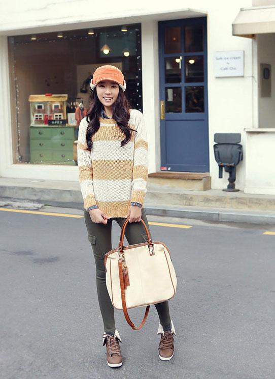 Cách đội mũ/nón len tuyệt đẹp hợp thời trang 4