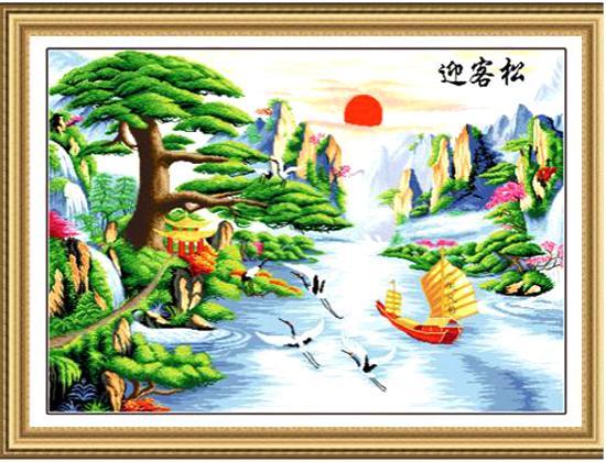 Người tuổi Dần nên chọn tranh phong thủy là tranh phong cảnh, tranh hổ