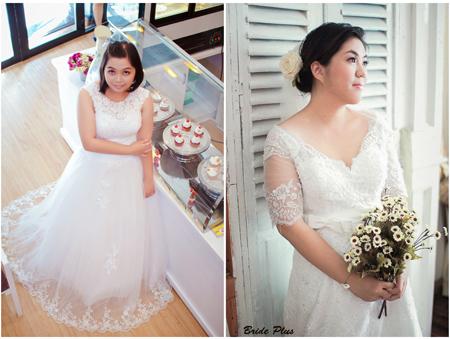 Chọn váy cưới cho cô dâu 'ngoại cỡ' phù hợp với dáng người sẽ giúp cô dâu tự tin hơn
