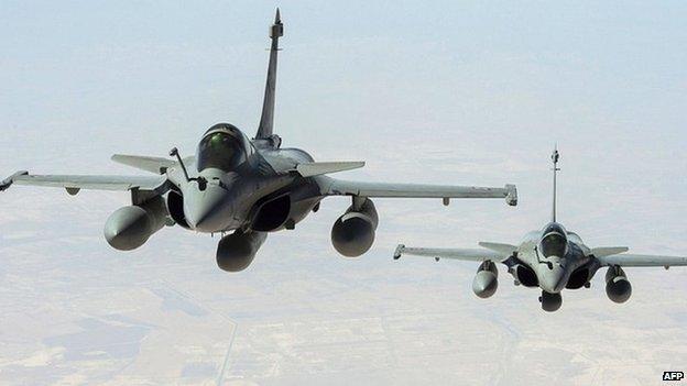 Pháp mở cuộc không kích đầu tiên tiêu diệt IS tại Iraq