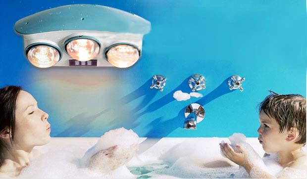 Chọn đèn sưởi tốt cho phòng tắm ảnh 2