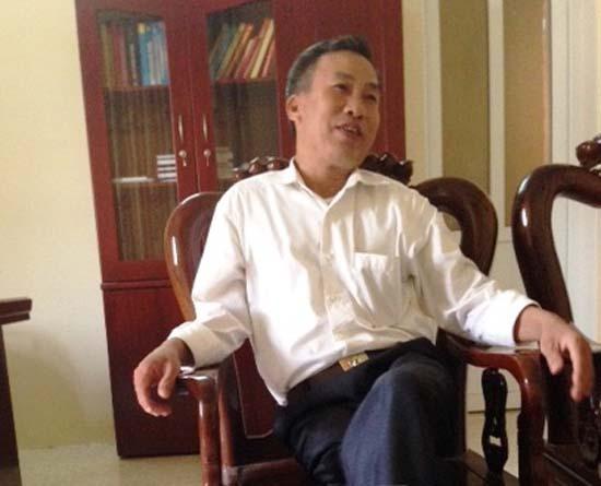 Ông Ngô Văn Thiên, chủ tịch xã Định Hòa (Thanh Hóa) kể lại việc bị hành hung, đe dọa giết cả nhà