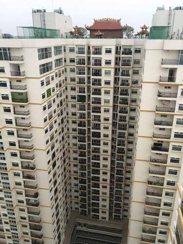 Chùa trên nóc chung cư cao cấp bậc nhất Hà Nội
