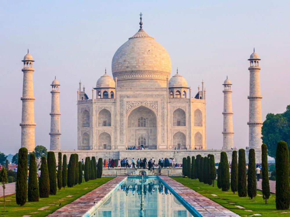 Đền Taj Mahal (Ấn Độ), nơi xảy ra vụ tai nạn chết người do chụp ảnh tự sướng