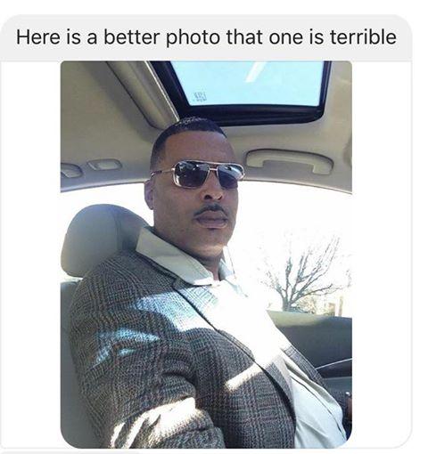 Donald Pugh đã gửi cho cảnh sát một bức ảnh tự sướng