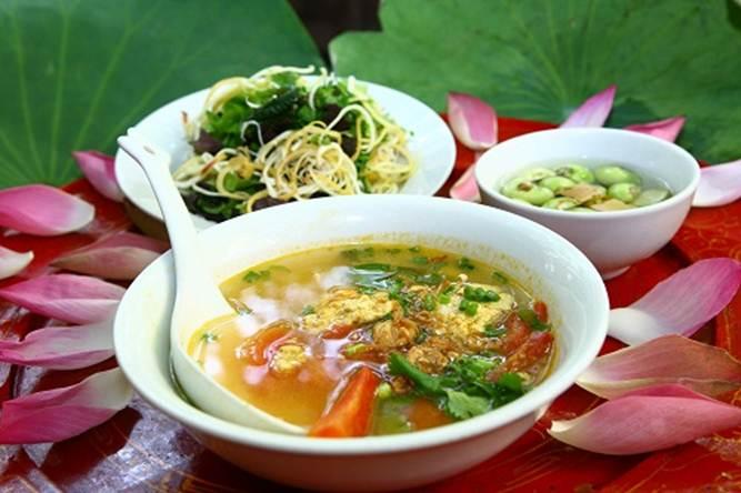 Nhiều nơi người dân không chuộng món ăn chay có hình thức món ăn mặn