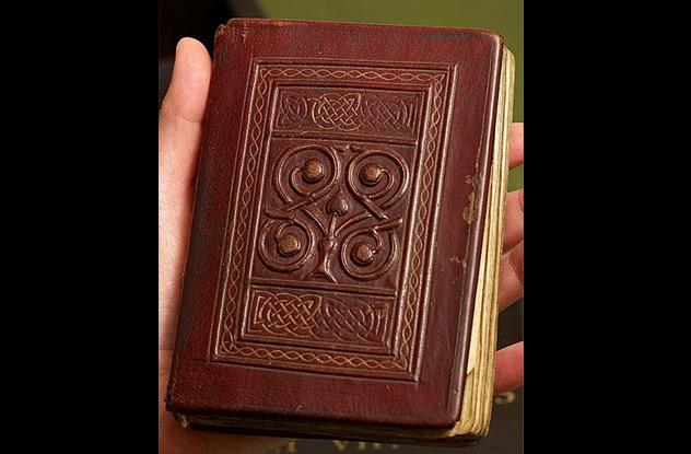 Quyển kinh phúc âm cổ từ thế kỷ thứ 7 vẫn còn nguyên vẹn
