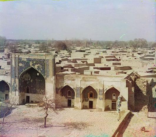Thành phố cổ heo hút người Samarkand