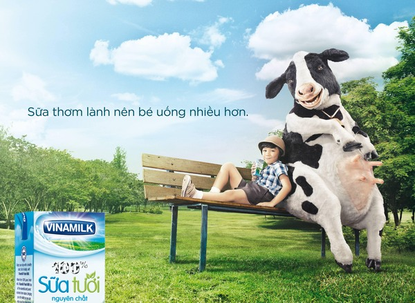 CP sữa Việt Nam Vinamilk
